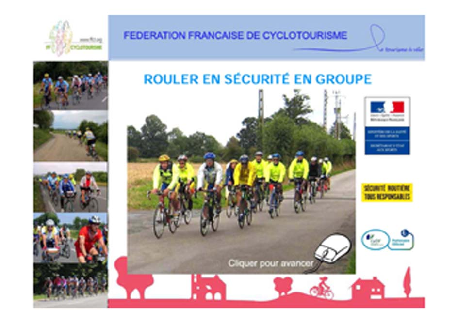 Rouler en securite en groupe