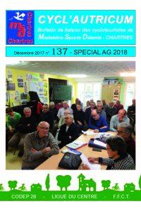 Cycl'Autricum 137 - AG 2018-couvertre